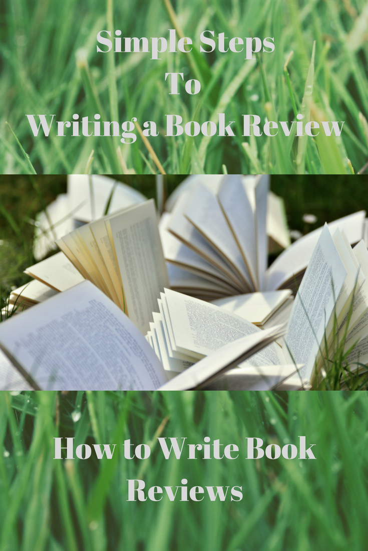 steps to writing a book