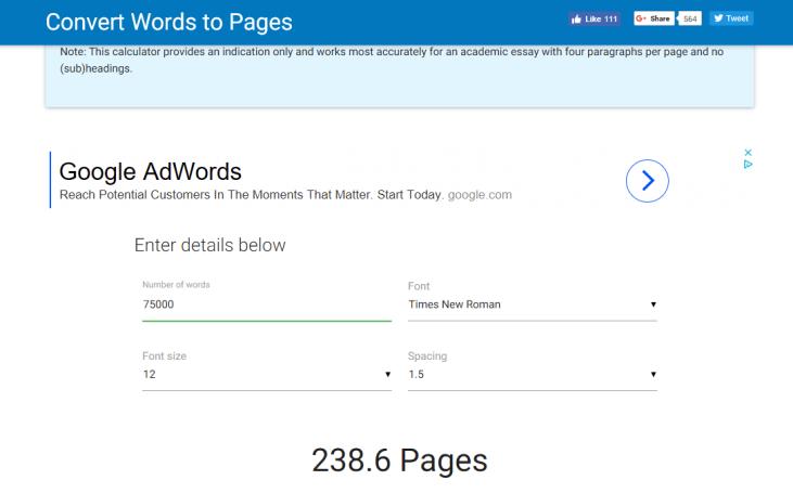 wordstopages.com